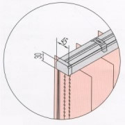 tenda verticale da interno